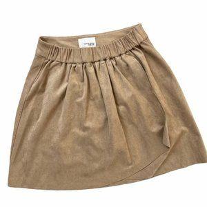 ARITZIA Wilfred Free Nescher Faux Suede Skirt XS
